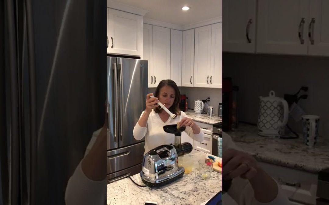 Ginger Turmeric Wellness Shot (Video)